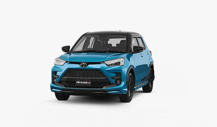Toyota New Raize GR